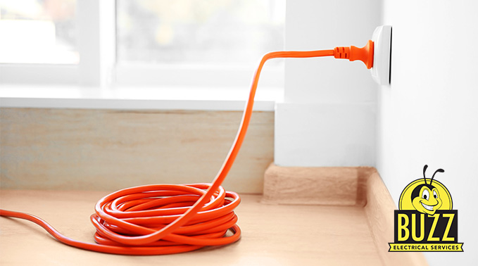 Buzz Electrical Extension Cord Safety Tips